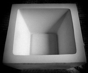 Forma gipsowa – Miska kwadratowa / TOWAR NA ZAMÓWIENIE