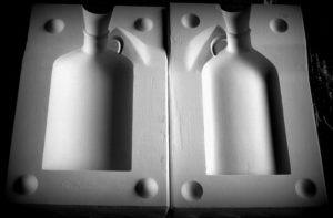 Forma gipsowa – Butelka