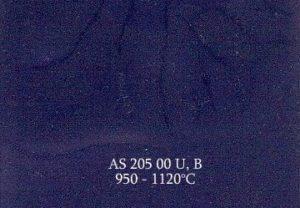 Farba Naszkliwna ASKeramik 205 00 B/ niebieski kobaltowy / 50g /