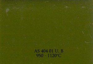Farba Naszkliwna ASKeramik 404 01 / zielony / 50g
