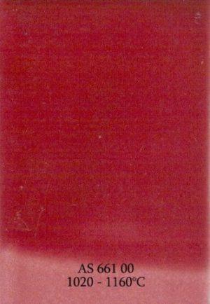 ASKeramik 661 00 / różowy nasycony / 1020-1160°C / proszek / 1kg