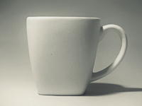 Forma gipsowa – Kubek kwadratowy/ TOWAR NA ZAMÓWIENIE