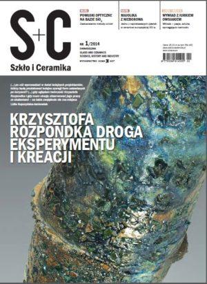 """Dwumiesięcznik """"Szkło i Ceramika"""" nr 1/14"""