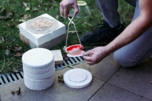 Tygielek- mini piec do wypału ceramiki w mikrofalówce